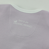 Organic Long Sleeve Bodysuit - Purple