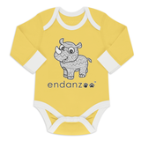 Organic Long Sleeve Bodysuit - Rhino And Its Origin