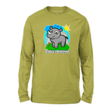 Organic Long Sleeve Kids Tee Shirt - Ray In A Wonderful World