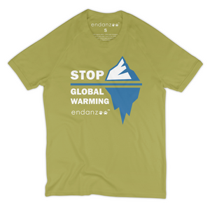 Stop Global Warming Organic T-Shirt - Women