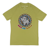 Organic Short Sleeve Kids Tee Shirt - Save the Rhinos