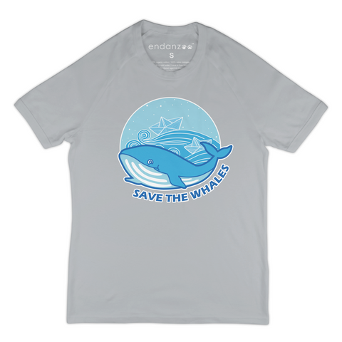 Save The Whales From Ships Organic T-Shirt - Men