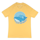 Save The Whales From Ships Organic T-Shirt - Women