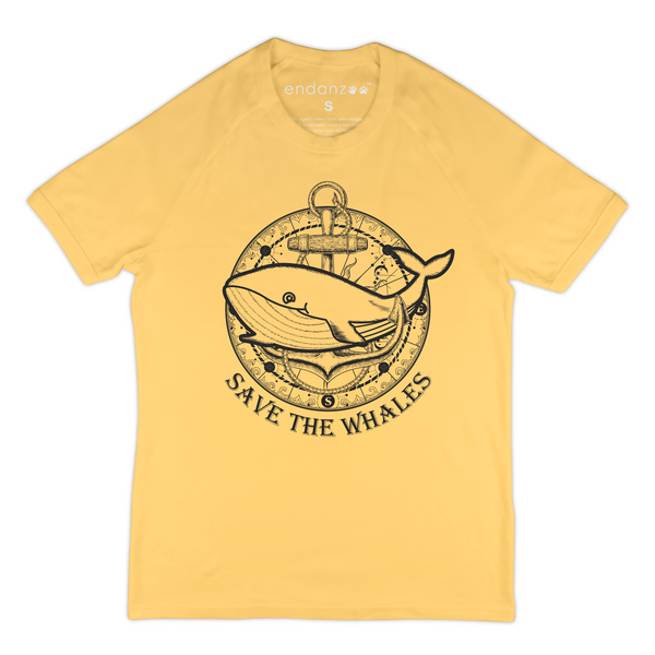 Save The Whales Organic T-Shirt For Men