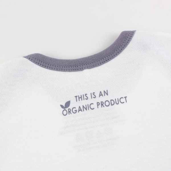 Organic Long Sleeve Bodysuit - Jen & Baby Macaw Bird