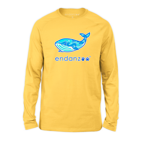 Organic Long Sleeve Kids Tee Shirt - Will Making Waves