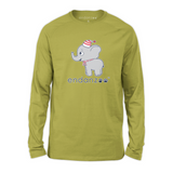 Organic Long Sleeve Kids Tee Shirt - Emma In Winter