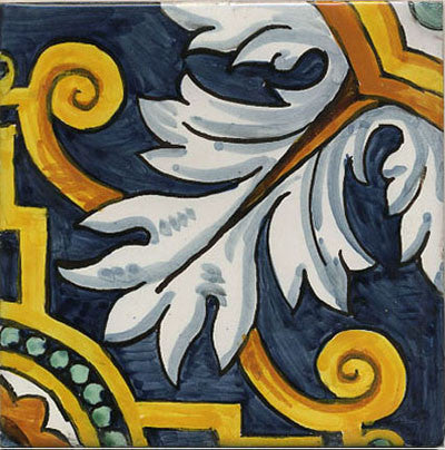 A Brief History of Hand-Painted Majolica Tile