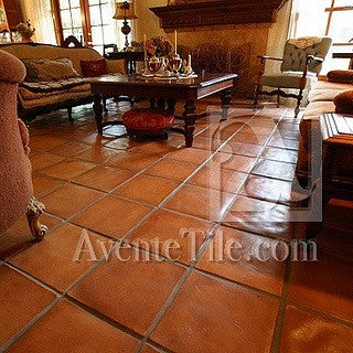 Cement Tile Pavers Create Rustic Elegance