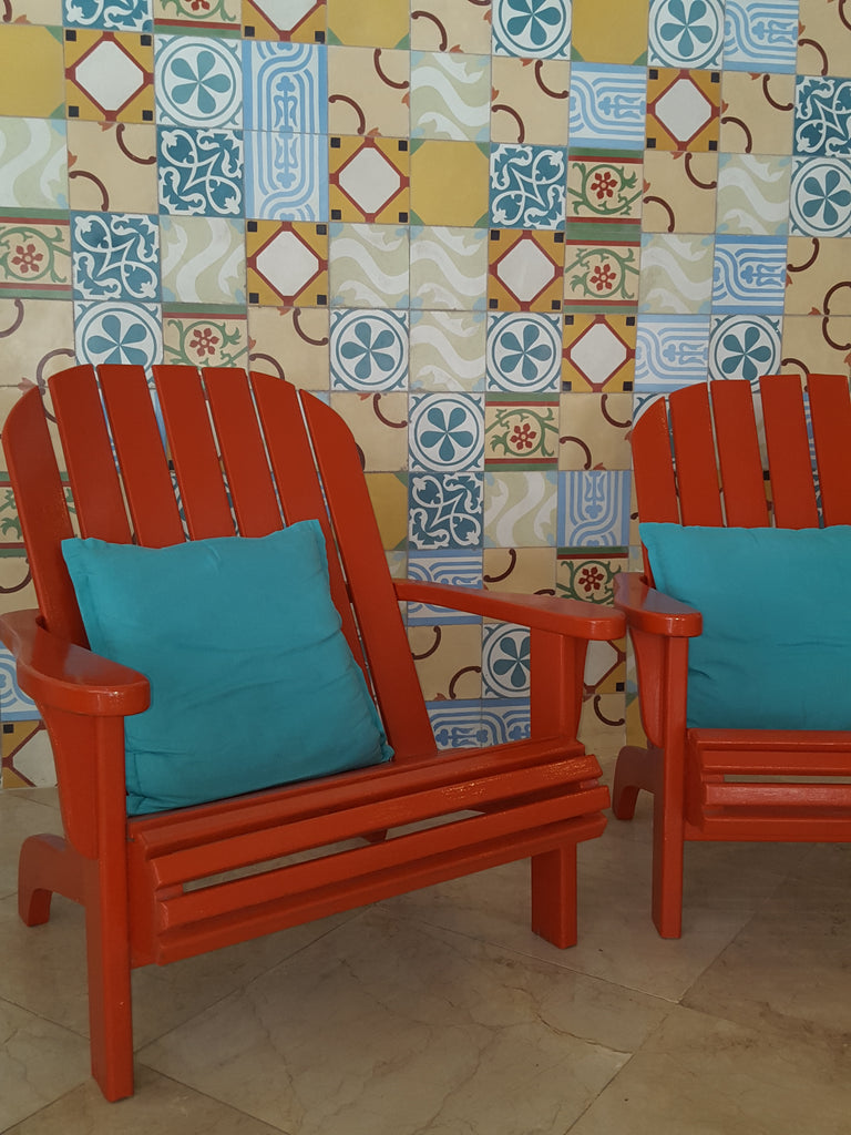 Create a Picture Perfect Patchwork with Cement Tile