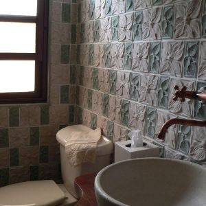 Hispaniola Cement Tile Bathroom