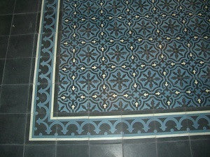 Mixing Patterns for a Cement Tile Rug
