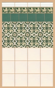 Portuguese Ceramic Tile Designs: Braganza Collection