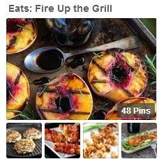 Pinterest: fire up the grill