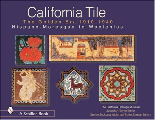 California Tile The Golden Era 1910 - 1940 is a Great Resource for Historical California Tile Patterns