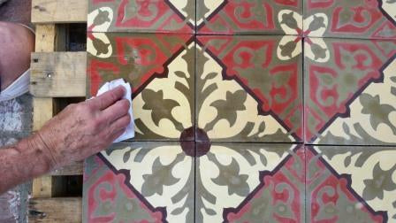 How to Apply a Grout Release - Cement Tile Install Tips