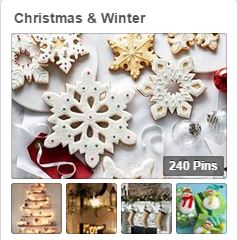 Avente's Pinterest Board for Christmas and Winter