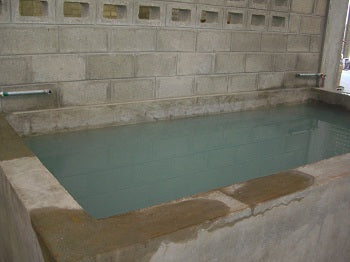 Water Bath for Curing Cement Tiles