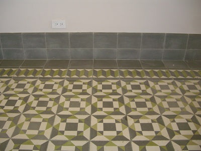 Cuban Heritage Design 210 Cement Tile