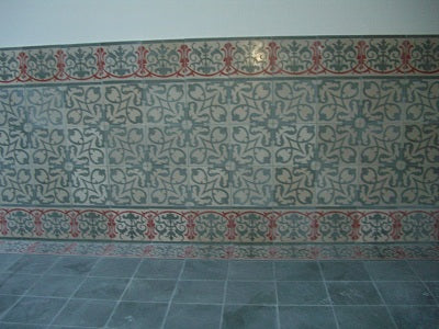 Cement Tile borders