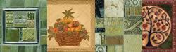 Hand Painted Tile Murals and Mosaic Tiles