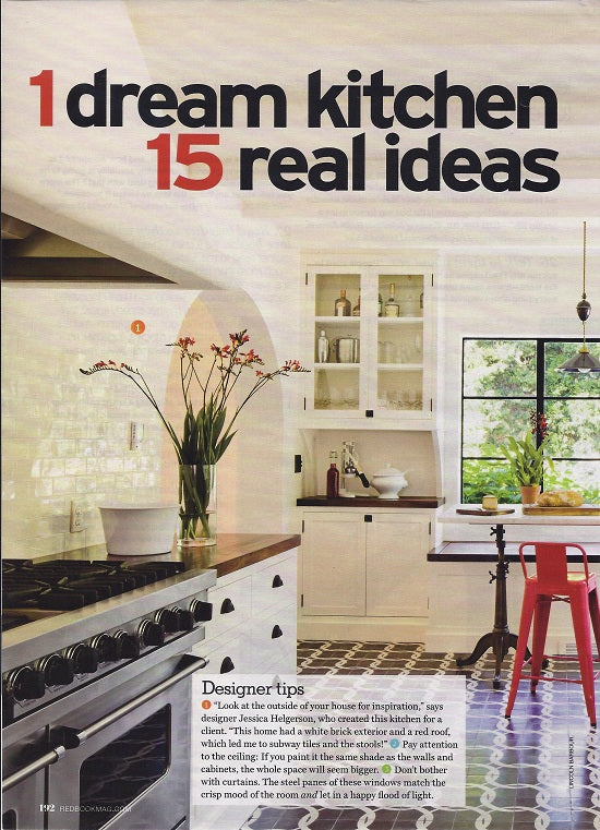 Redbook Magazine: 1 dream kitchen 15 real ideas