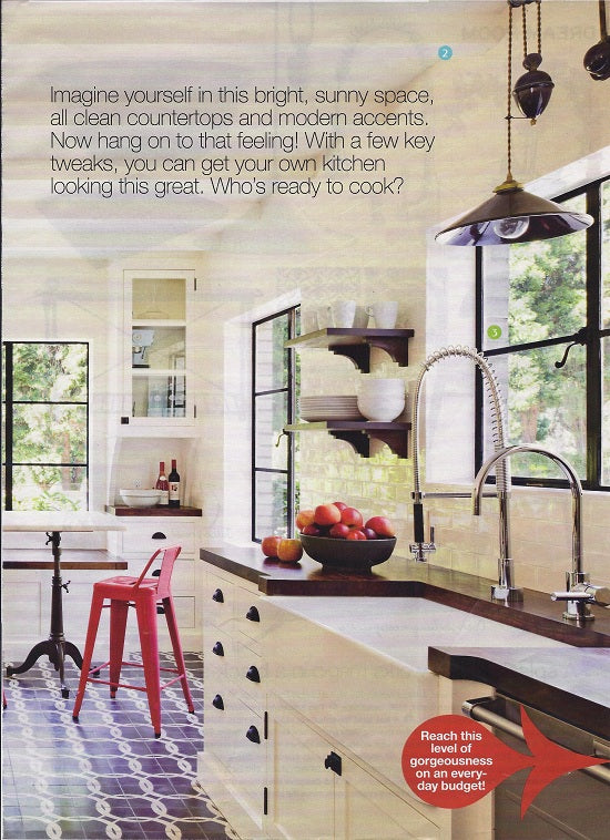 Redbook Magazine: 1 dream kitchen 15 real idees