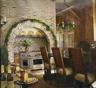 Reclaimed Cement Tile featured in Traditional Home provide inspiration