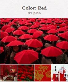 Avente Tile's Red Pinterest Board