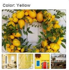 Avente Tile's Yellow Pinterest Board