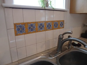 Cadiz 4x4 tiles for sink back splash