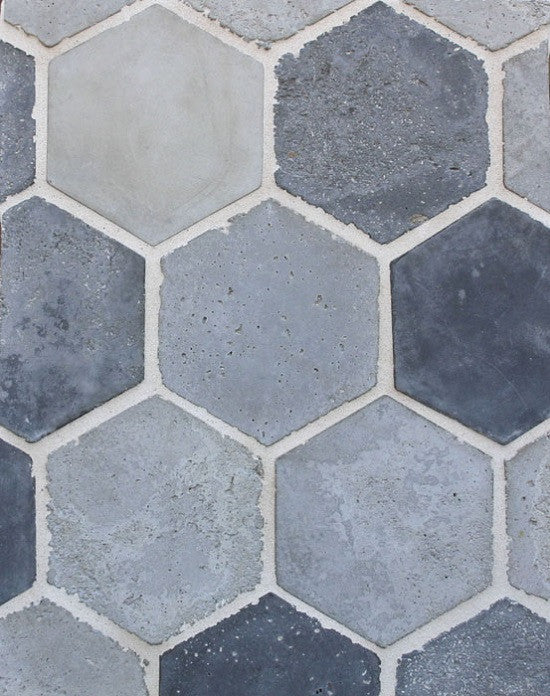 6-inch Hexagon in Portland Blend