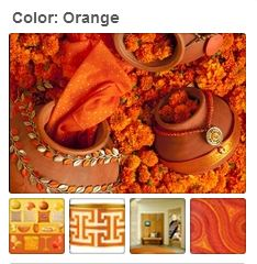 Avente Tile's Orange Pinterest Board