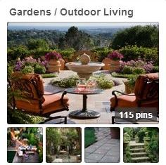 Avente Tile's Gardens / Outdoor Living Pinterest Board