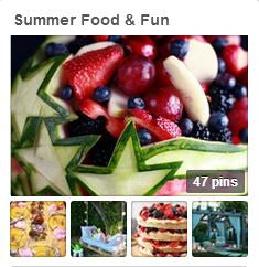 Avente Tile's Summer Food & Fun Pinterest Board