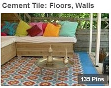 Cement Tile: Floors, Walls