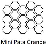 Line Drawing of Mini Pata Grande Layout