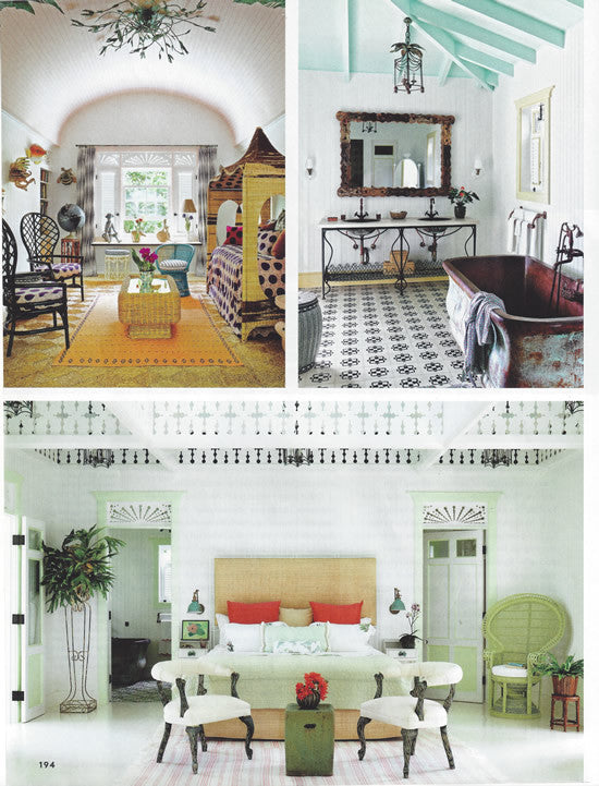 Architectural Digest Features Toscana Cement Tile Pattern