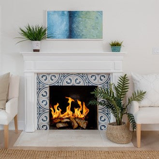 Tips for Designing Fireplaces with Cement or Ceramic Tile