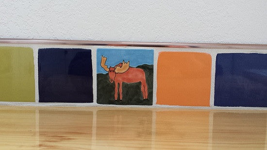 Avente's Animal Tiles include a Moose