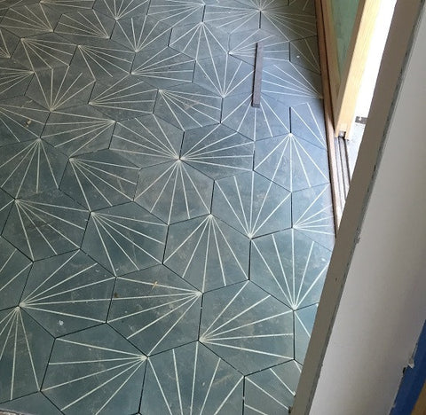 Bakery Hexagon Cement Tile Pattern & Hexagon Cement Tile Buying Guide \u2013 Avente Tile