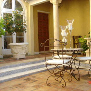 Spanish Caceres Patio Risers