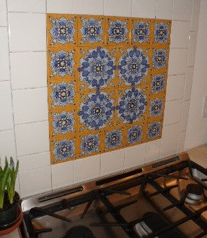 Cadiz Tiles Add Warmth to Maine Coastal Kitchen