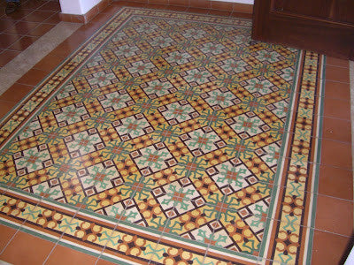 How To Create A Cement Tile Rug Design Avente Tile