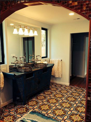 Cement floor tiles exude bohemian exotic flair avente tile cement floor tiles exude bohemian exotic flair ppazfo