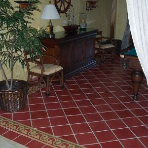 Cement Tile Billiards Room