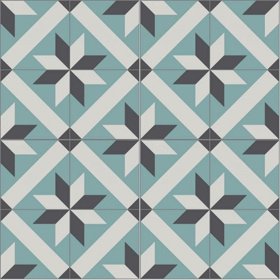 Cement Tile Pattern: Classic Toscano A