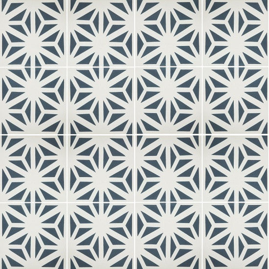 Cement Tile Pattern: Classic Tunis B