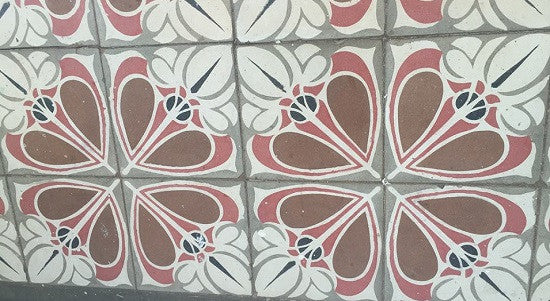 A  contemporary tile pattern from Cuba