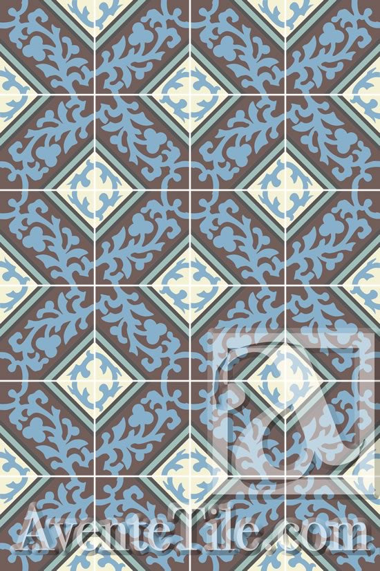 A Lattice Pattern is created using the Cuban Heritage Design 260 4B